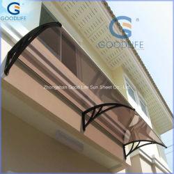 Schermo del baldacchino del policarbonato DIY/policarbonato del balcone