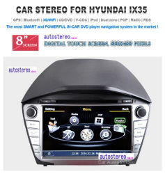 Автомобильная навигация GPS DVD для Hyundai IX35 салонной стереосистемы Satnav головное устройство для мультимедийной системы навигации Nav