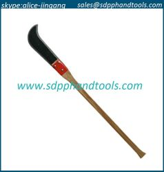 """12"""" Gancho de Bush com pega de madeira reta de 36"""", banco de Fosso Fábrica Blade da China"""