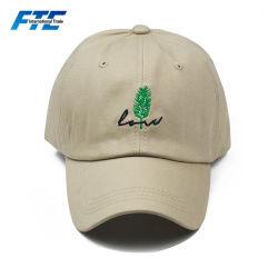 Curvas personalizadas ala Gorra de algodón bordado Golf Hat
