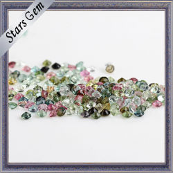Hot Mix de vente la couleur de la Tourmaline gemme