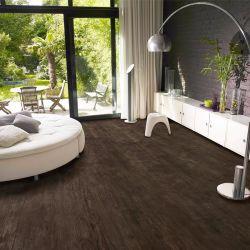 Efeito de madeira natural de 4mm Lvt Vinil PVC Clique em azulejos do piso