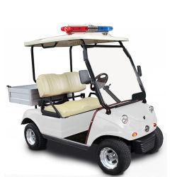 Incrociatore dell'automobile pratica del carrello di golf con il contenitore posteriore di carico