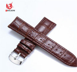 Luxe Watch Band 12mm, 14mm, 16mm, 18mm, 20mm, 22mm, 24mm het Polshorloge Band#V542 van SOFT Band Leather Strap Steel Buckle