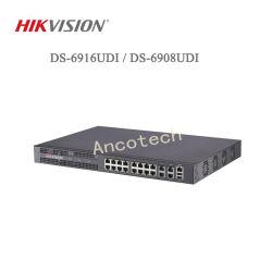 Réseau de vidéosurveillance de sécurité Hikvision Décodeur vidéo (DS-6916DUI/DS-6908IDU)