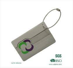 인쇄 로고가 있는 맞춤형 금속 수하물 키 태그(A2)