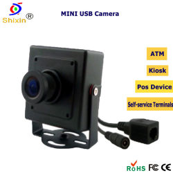 Rede de 1.3 Megapixel HD mini quiosque Câmara IP ATM (IP-608HM-1.3M)