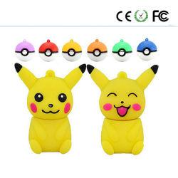 A Esfera Pokémon Pikachu Unidade USB Flash Memory Stick Pen drive de disco U 4/8/16/32/64G