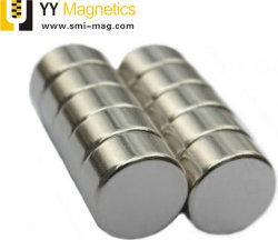 極度の強いカスタマイズされた磁石小型銀製のバルク円形ディスクシリンダー希土類