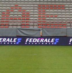 영상 Display Function 및 High End Advertizing 의 Sports Stadium 광고. 득점판 & Timing 등등 Usage Textile Outsourcing