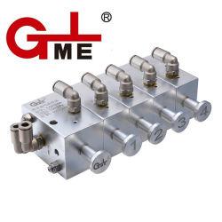 Cisterna de combustible de mejor calidad de bloque de control neumático de aleación de aluminio