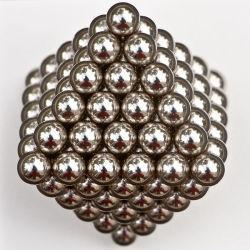 Металлические Magic Cube магнитных 5мм 216 магнитных неодимовый магнит присутствует Рождество шаровой опоры рычага подвески
