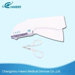 Grampeador com certificado CE pele descartáveis (HASPF-25/35W)