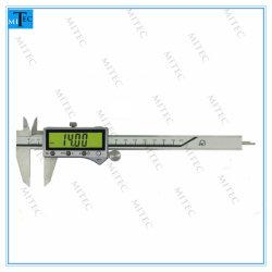 Fábrica de China IP67 Resistente al agua en la pantalla grande calibrador Vernier electrónico digital pulgadas/métricas