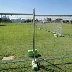 Seguridad de la ciudad de fuerte temporal de tráfico por carretera de aislamiento flexible portátil barrera valla de eventos para la construcción Piscina