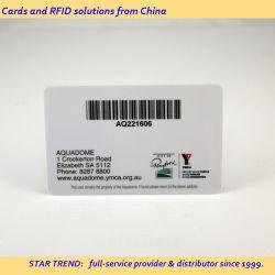 PVC/Haustier/Papier Barcode-Karte als Mitgliedskarte, Bibliothekskarte, Supermarkt-Tag verwendet