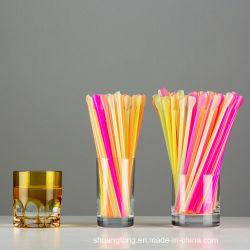 Löffel-Stroh-Trinkhalm-kundengerechte multi Farbe