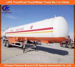 2 de Aanhangwagen van de Tank van het Vervoer van LPG 20tons van de as 40000L voor Mongolië