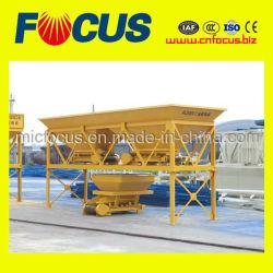 2개의 호퍼 시멘트 모래 배칭 기계, PLD800 골재 배쳐