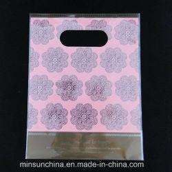 OPP de embalaje de regalo bolsa con un orificio para colgar