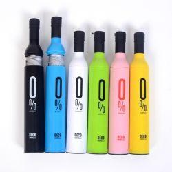 21*8K Publicidad promocionales personalizados de forma Pac paraguas botella de vino