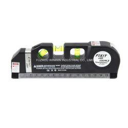 Nivel láser multifuncional con cinta métrica y el nivel Vial (WW-LV03)