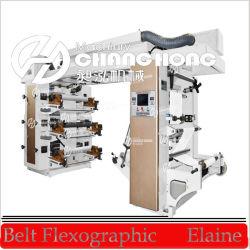 A Flexo Pressione Imprimir etiqueta da Máquina de Papel (CE)