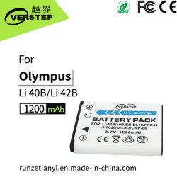 Compatibel systeem met Batterij van de Camera van Olympus Li-40b/42b /En-EL10 /Fnp45 /K7006 /D-Li63 /Cnp-80 de Digitale