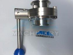 Ss 304 316 316L сварки резьбовые резьбовые фланцевый конец зажима санитарных двухстворчатый клапан