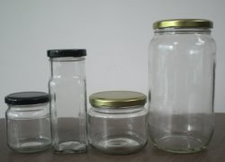 250mlガラス蜂蜜のびんか蜂蜜のガラスビン