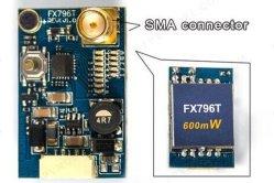 Fx796T 600MW 5.8g/200MW 40CH émetteur vidéo Tx pour FPV Bourdon