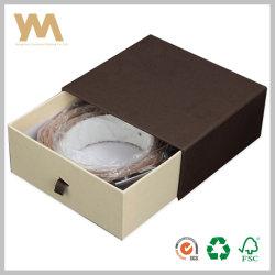 Gaveta de novo estilo caixa cinto de couro caixa de acessórios de vestuário