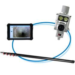 Inspectie van de afvoerleiding van de sewer camera sensor-ontvanger