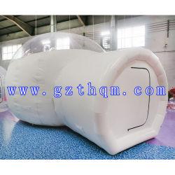 White Piscina Camping Globo com Quartos / Transparente Globo transparente insuflável tenda