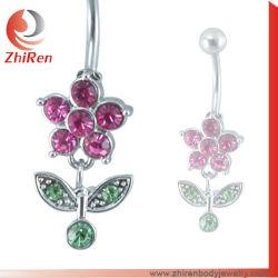 Zhirenの卸し売り花の空想の腹リングは、臍のリングを、ぶら下げる腹リングを空想する