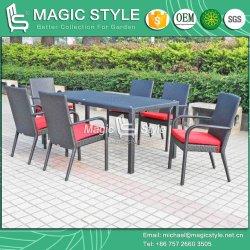 Плетеная наращиваемые стул обеденный зал, сад стул отель проекта горячая продажа стул прямоугольник в таблице (Magic Style)