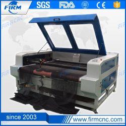 Nouvelle machine de découpage à gravure laser CO2 automatique CNC pour acrylique/tissu/cuir/bois