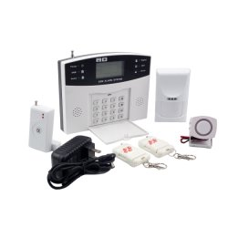 Accueil de la sécurité des systèmes d'alarme GSM avec 99 zones sans fil