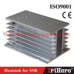 H-150 Disipador de calor para la fase tres del relé de estado sólido SSR