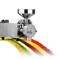 Seque o aço inoxidável comida eléctrico em pó moinho triturador pequena máquina de grãos de pimenta vermelha Chili Páprica esmagado moinho triturador