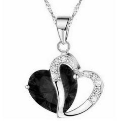 新しい方法ネックレスの女性の美しい中心の水晶吊り下げ式のネックレス(ESG11096)