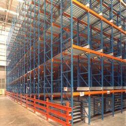 Entrepôt de stockage réglable Rouleau en acier robuste de vivre la gravité des étagères