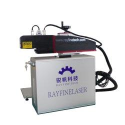 30W 3D волокна лазерной гравировки металла машины цветной лазерный принтер для настольных ПК станок для лазерной маркировки для пластиковой бутылки