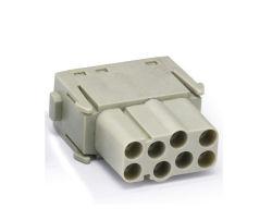 방수 AWG26-12 폴리카보네이트 하우징 6kV 속도 전압 중부하 작업용 커넥터