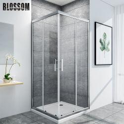 浴室の明確なガラスフレーム簡単な部屋機構のシャワーの小屋ボックスキュービクル