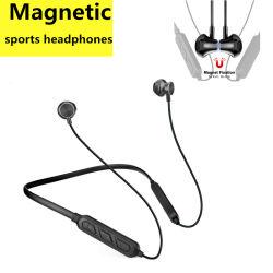 Магнитные металлические беспроводных наушников гарнитуры Bluetooth наушников для iPhone