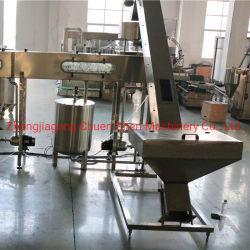 6000-8000un pH de l'eau chaude de la purée de pâte de remplissage de jus de manchon de plafonnement de l'étiquetage de la machine d'emballage