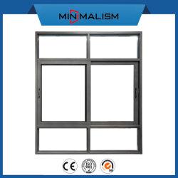 Aluminiummetallflügelfenster-/schiebendes Fenster-/Tür-Eisen-Gitter-Entwurf/Baumaterial