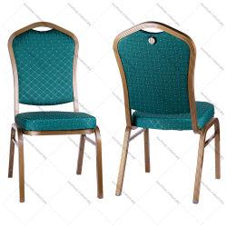 Whoelsale는 주문을 받아서 만들었다 색깔 금속 쌓을수 있는 호텔 연회 의자 (HM-S008)를