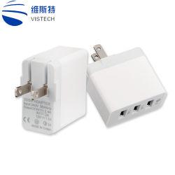 QC 3.0 Snelle Lader 3 van het Huis van de Lader van de Muur USB Adapter van de Lader van de Telefoon van de Stop van de Haven de Multi